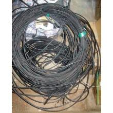 Оптический кабель Б/У для внешней прокладки (с металлическим тросом) в Барнауле, оптокабель БУ (Барнаул)