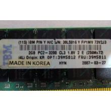 IBM 39M5811 39M5812 2Gb (2048Mb) DDR2 ECC Reg memory (Барнаул)
