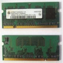 Модуль памяти для ноутбуков 256MB DDR2 SODIMM PC3200 (Барнаул)